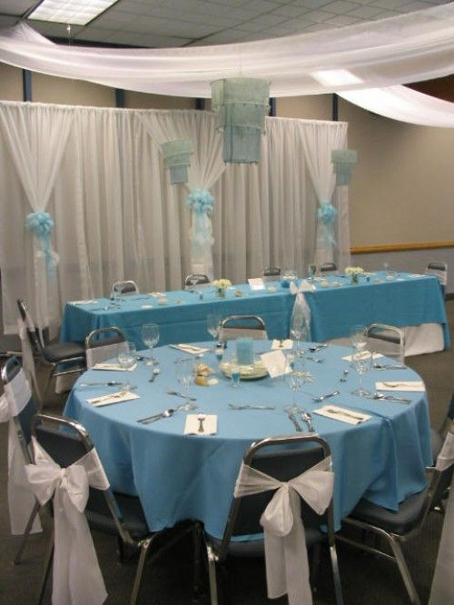 Diy backdrop hang your curtain rods with the fishing leaders from diy wedding ideas how drape a ceiling hanging backdrop solutioingenieria Images
