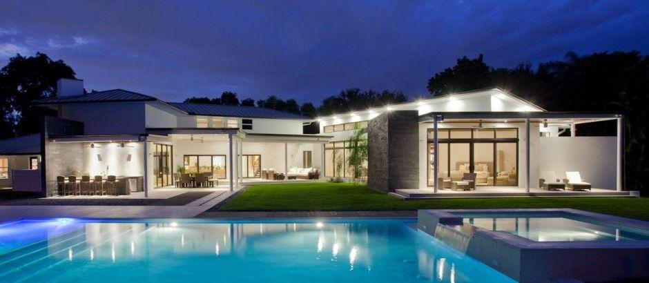 Superbe villa en floride architecture et décoration de rêve