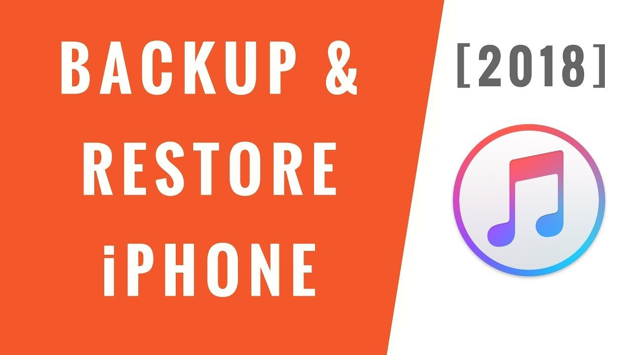 How to Backup & Restore iPhone using iTunes [2018] Step