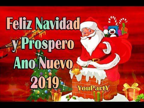 Felicitaciones De Navidad Youtube 2019.Feliz Navidad Y Prospero Ano Nuevo 2019 Feliz Ano Novo