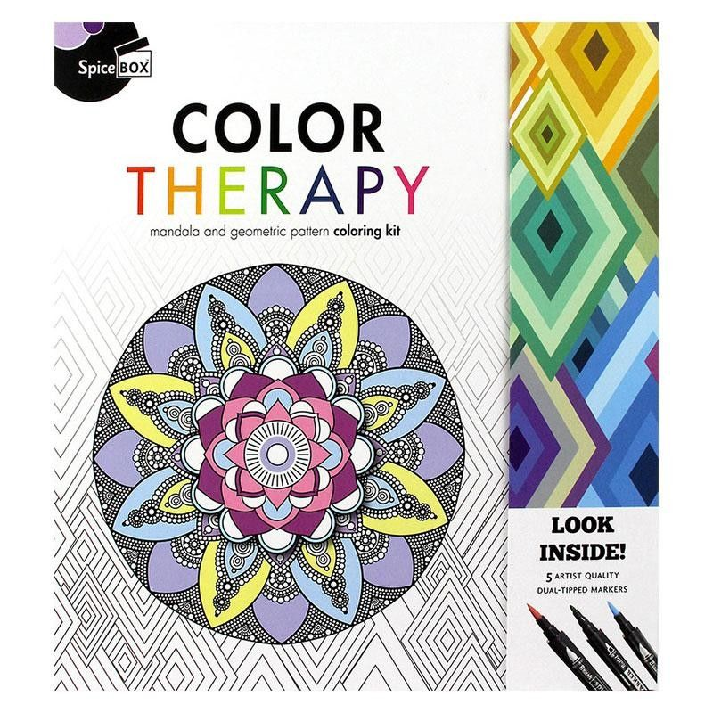 Sketch Plus Color Therapy Meditative Coloring Color Therapy Coloring Books