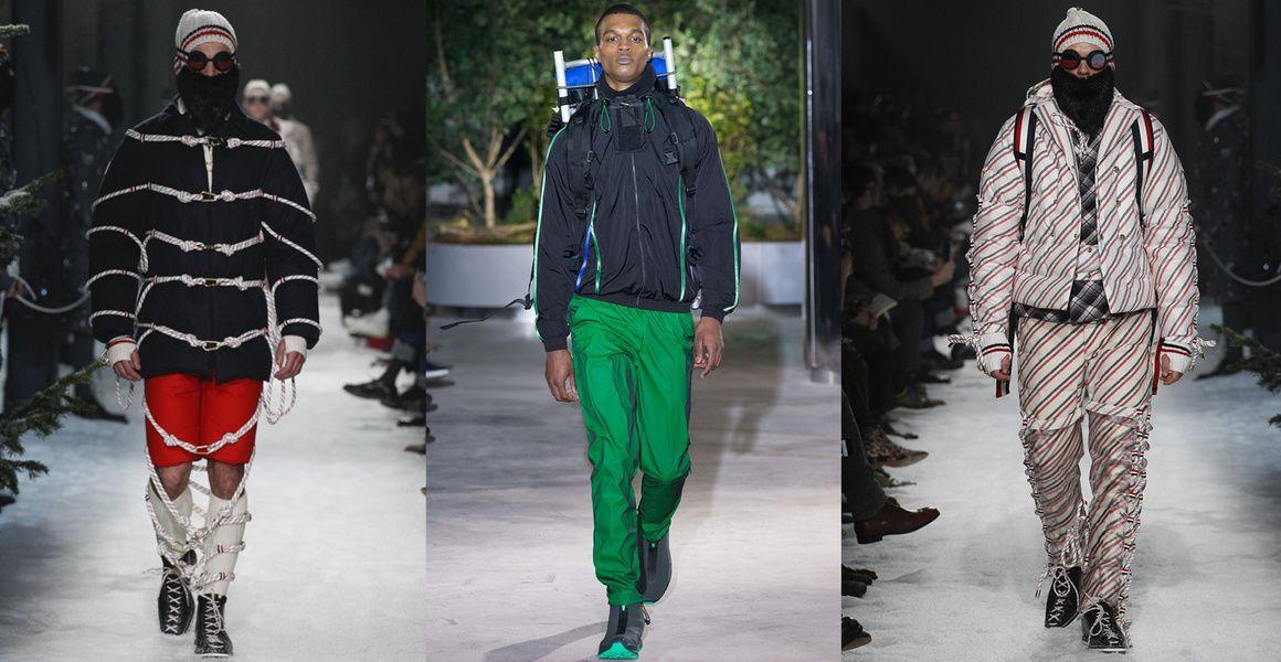 Populaire Les 20 tendances mode de la Fashion Week homme automne-hiver 2017  SG29