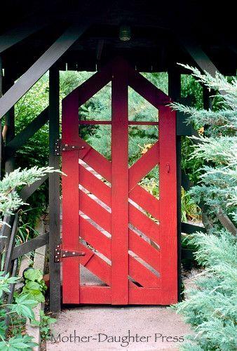 Japanese garden gate great gates fences pinterest for Japanese garden gate