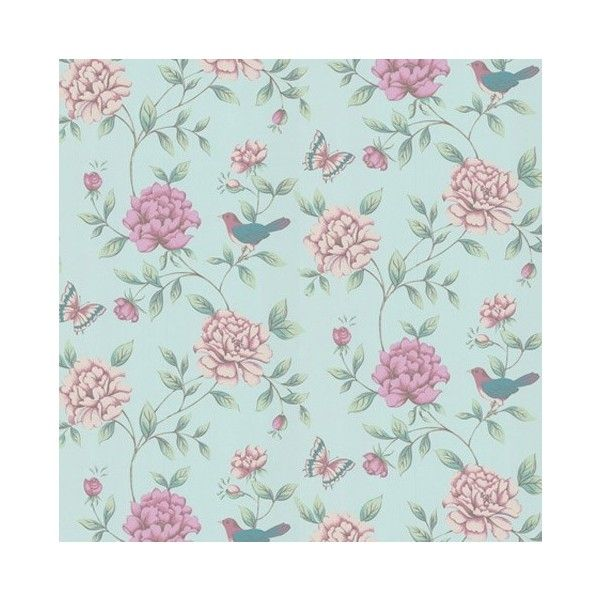Graham Brown Monsoon Isabelle Blue Wallpaper Floral Wallpaper Blue Floral Wallpaper Vintage Floral Wallpapers