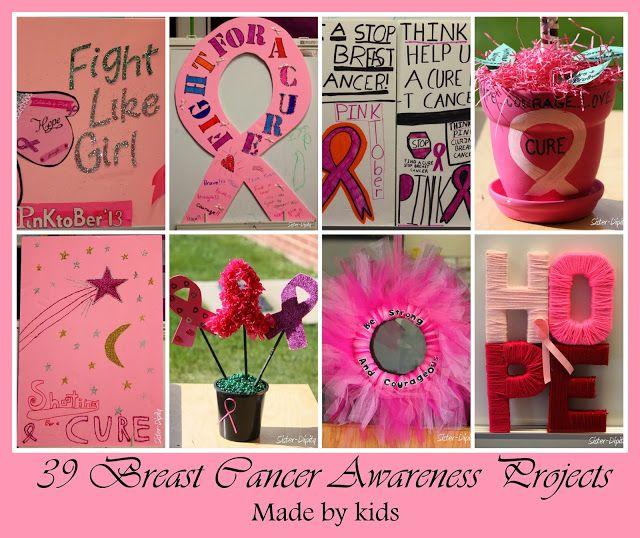 Breast cancer awareness crafts photos