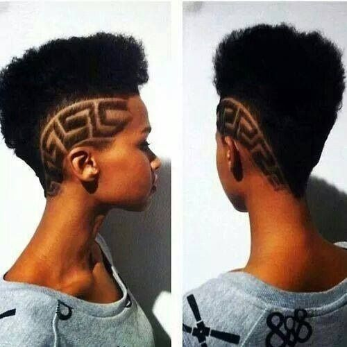 Egyptian Pattern Hair Styles Undercut Hairstyles Natural Hair Styles
