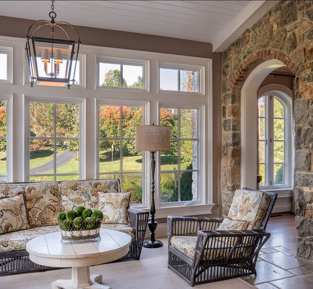Sunroom Addition Ideas: Traditional House, Home, Living Room Windows