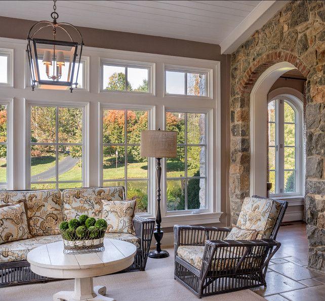 Traditional House, Home, Sunroom Furniture
