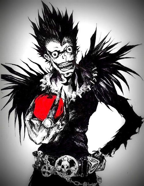 Death note Anime Pinterest Death note, Death and Shinigami - death note