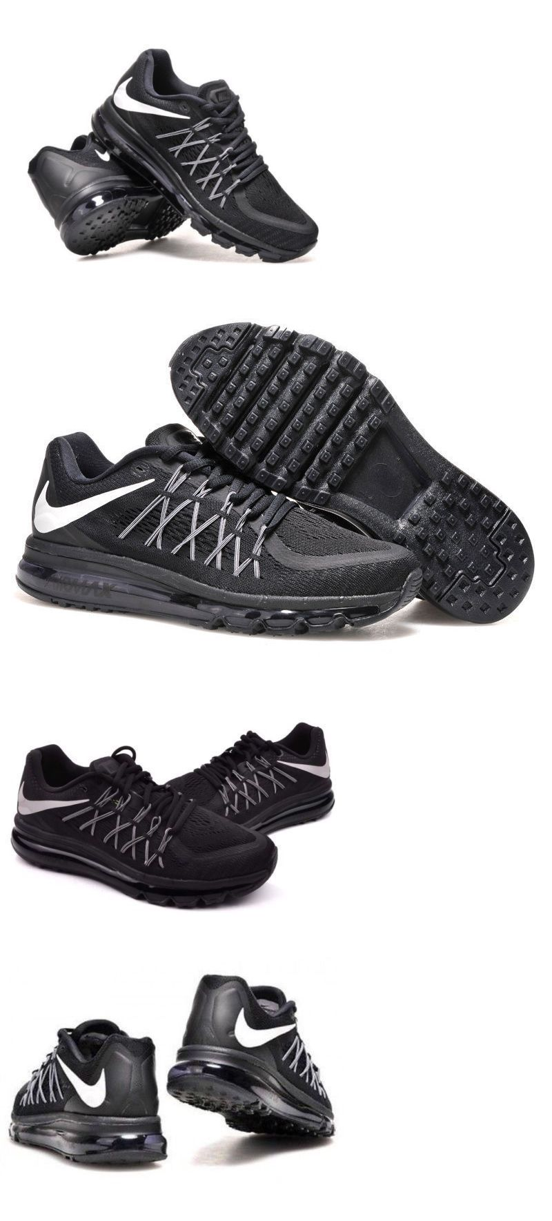save off ef751 4c280 Men Shoes  Nike Air Max 2015 Black White 698902-001 New Mens Running Shoes  Multi Size 2017 -  BUY IT NOW ONLY   119.99 on eBay!