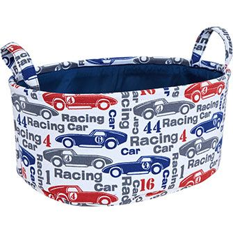 Small Racing Car Toy Storage Basket