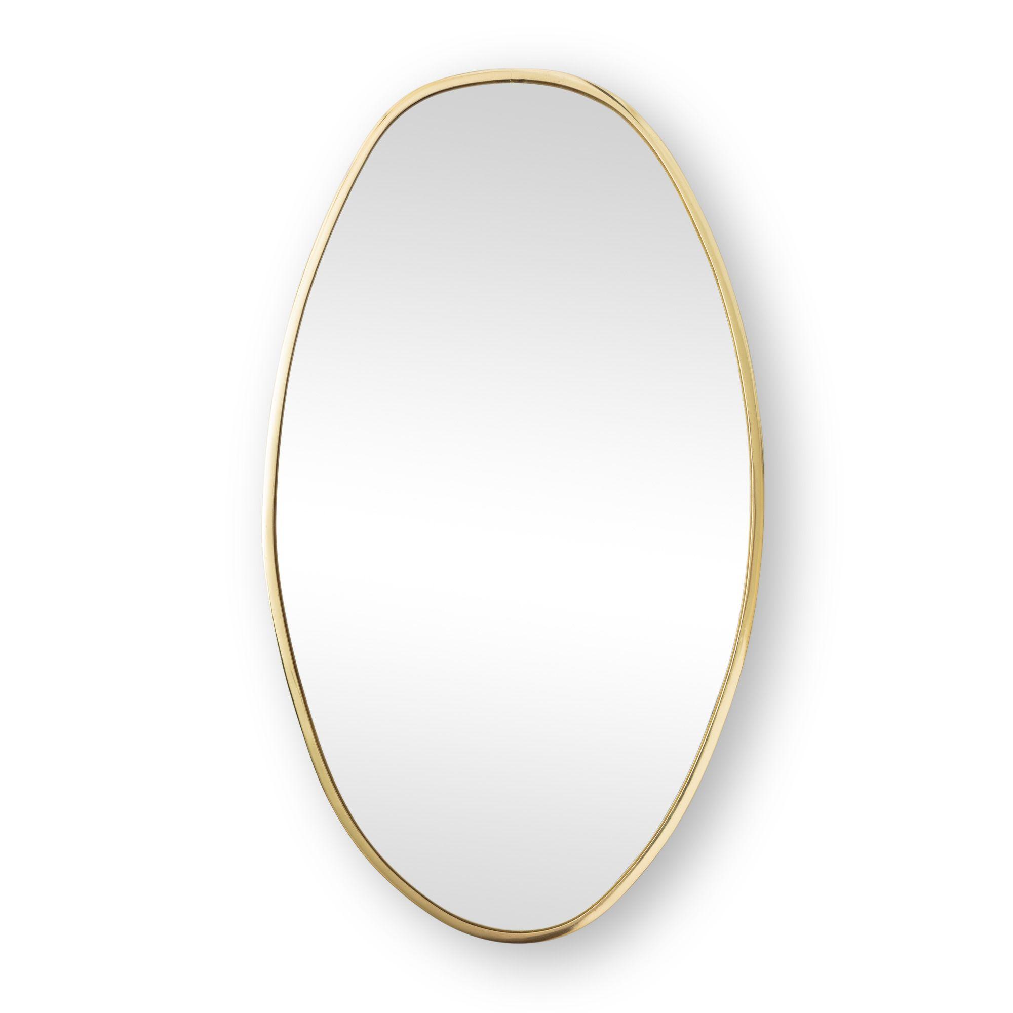 Buy the Large Gold Pebble Wall Mirror at Oliver Bonas. Enjoy free UK ...
