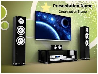 Plasma Home Cinema Powerpoint Template is one of the best PowerPoint