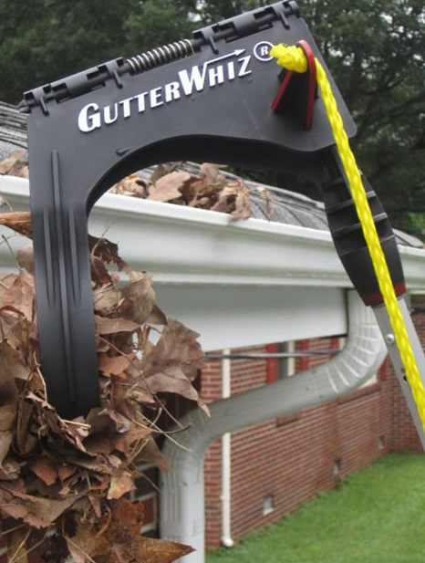 Do you HATE cleaning gutters? Make a tough job easier and safer without a ladder. Wet or dry, remove leaves, pine needles, and toys. (Pole sold separately to suit your gutter height.) Note that cleaning two story gutters depends on the user's ability to handle a longer pole. Take videos or photos of your gutters--instructions incl. with unit. Also see GutterWhiz Extension Pole, 6'. to 12', for up to 1-1/2 story gutters (15 ft.). Buy on Amazon--enter