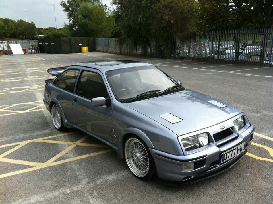 3dr Sierra Cosworth In Moonstone Blue Ford Sierra Ford Classic