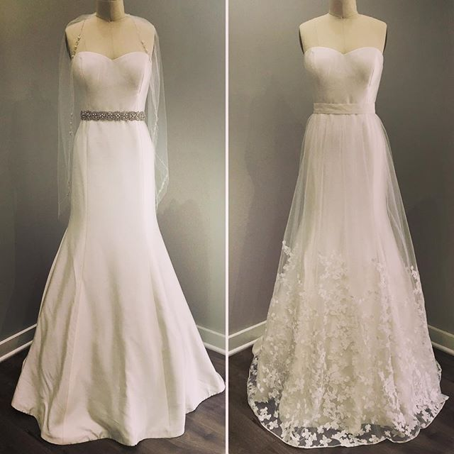 Sash or overskirt? They're both so beautiful...it's too difficult to decide!