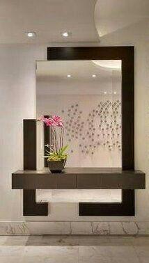 Half Border Mirror Design . | Live in Style . Home Design by ...