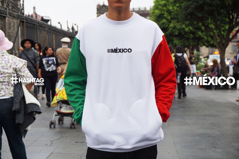 Recorre las calles de este gran país con la sudadera tricolor  MÉXICO 🇲🇽   774f6640d56
