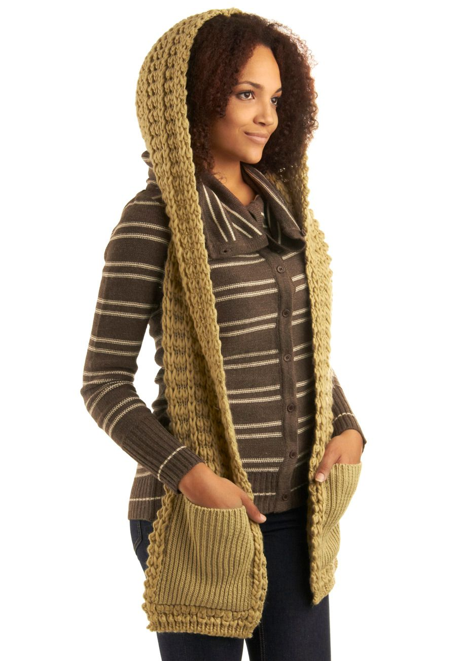 Hoodie scarf. Like this idea. Crazy anyone would spend $50.00 on one ...