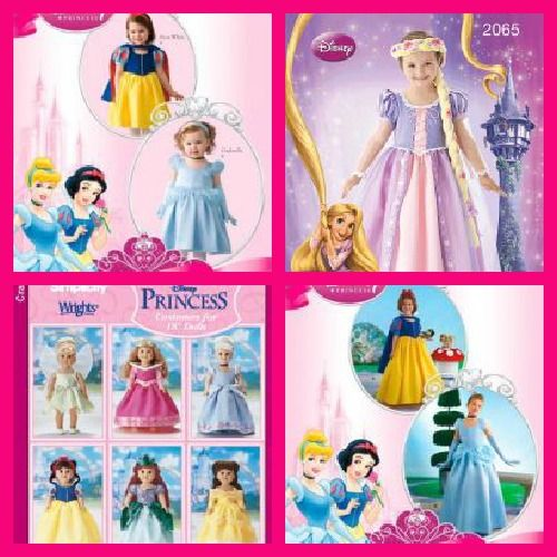 Blog by sewing-online.com / Simplicity Sewing patterns For Disney ...