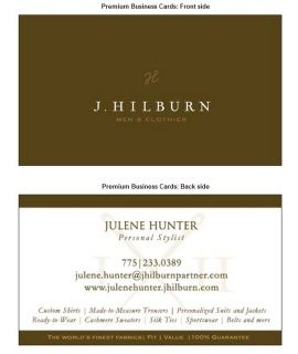 Need j hilburn business cards premium glossy stock high gloss on need j hilburn business cards premium glossy stock high gloss on logo front matte finish on back is easy to write onweight 130 lb reheart Image collections