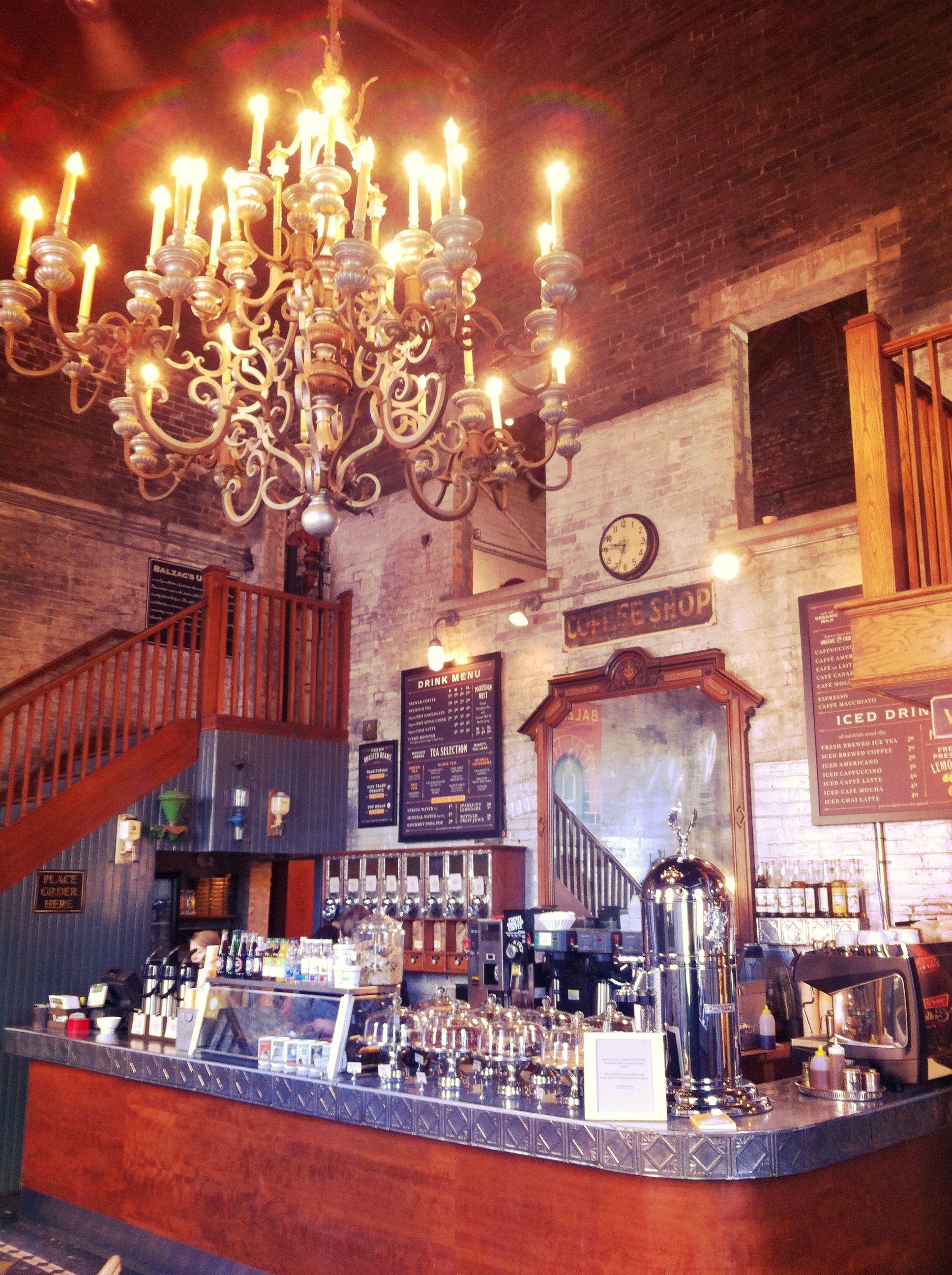 Balzacs coffee shop distillery district toronto