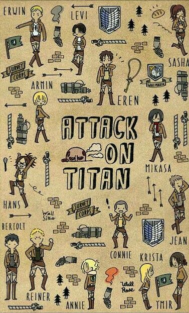 Shingeki No Kyojin Attack On Titan Snk Omg I Love This Its