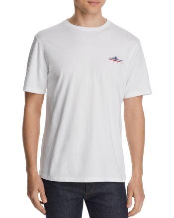 Vineyard Vines American Bonefish Graphic Tee - White Cap ...