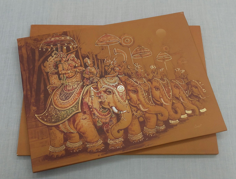 Royal Indian Wedding Invitation Cards Wedding Invitation