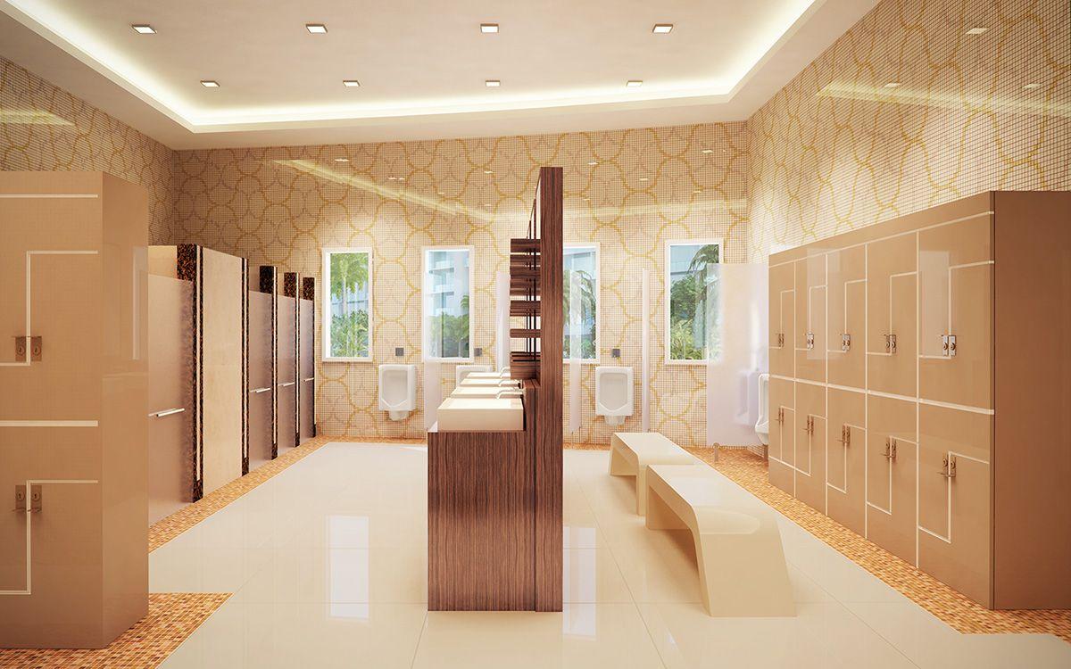 Health Club Locker Room Design Favorite