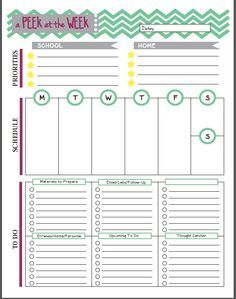 13 Free Teacher Planning Pages and Resources for Teachers. A set ...