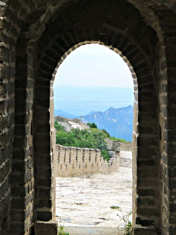 climbing the great wall of china mutianyu section asia on great wall of china id=88872