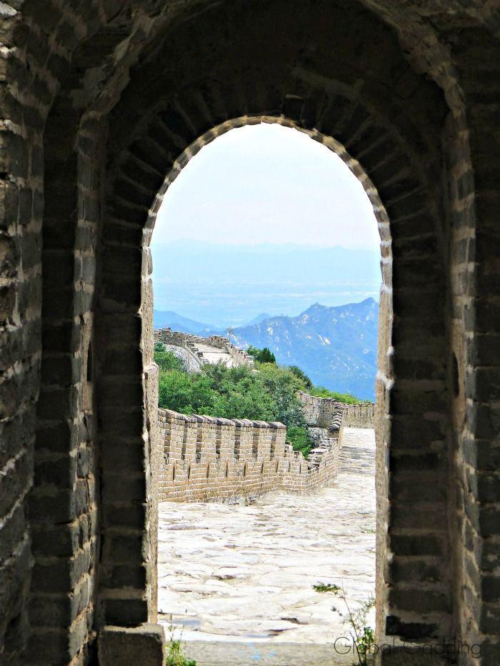 climbing the great wall of china mutianyu section asia on the great wall of china id=84053