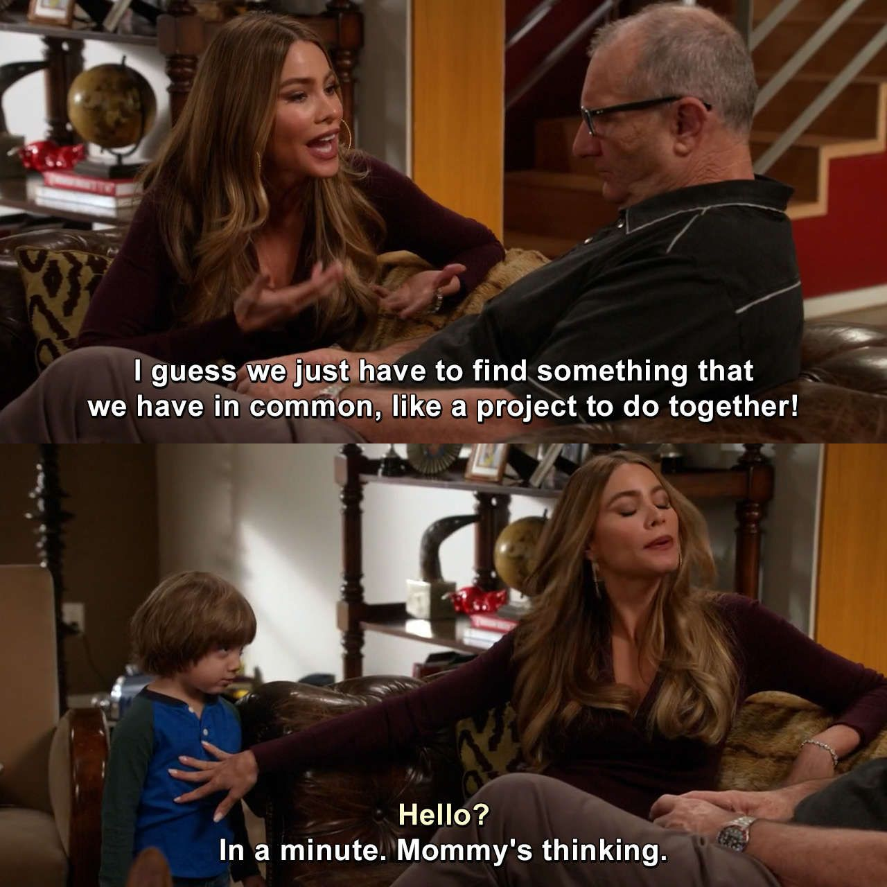 Modern Family Clean For A Day Gloriadelgadopritchett Joepritchett Modernfamily Cleanforaday Meme Modern Family Memes Modern Family Quotes Modern Family