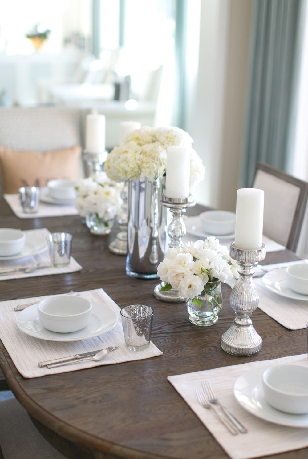 Gorgeous And Simple Dining Room Table