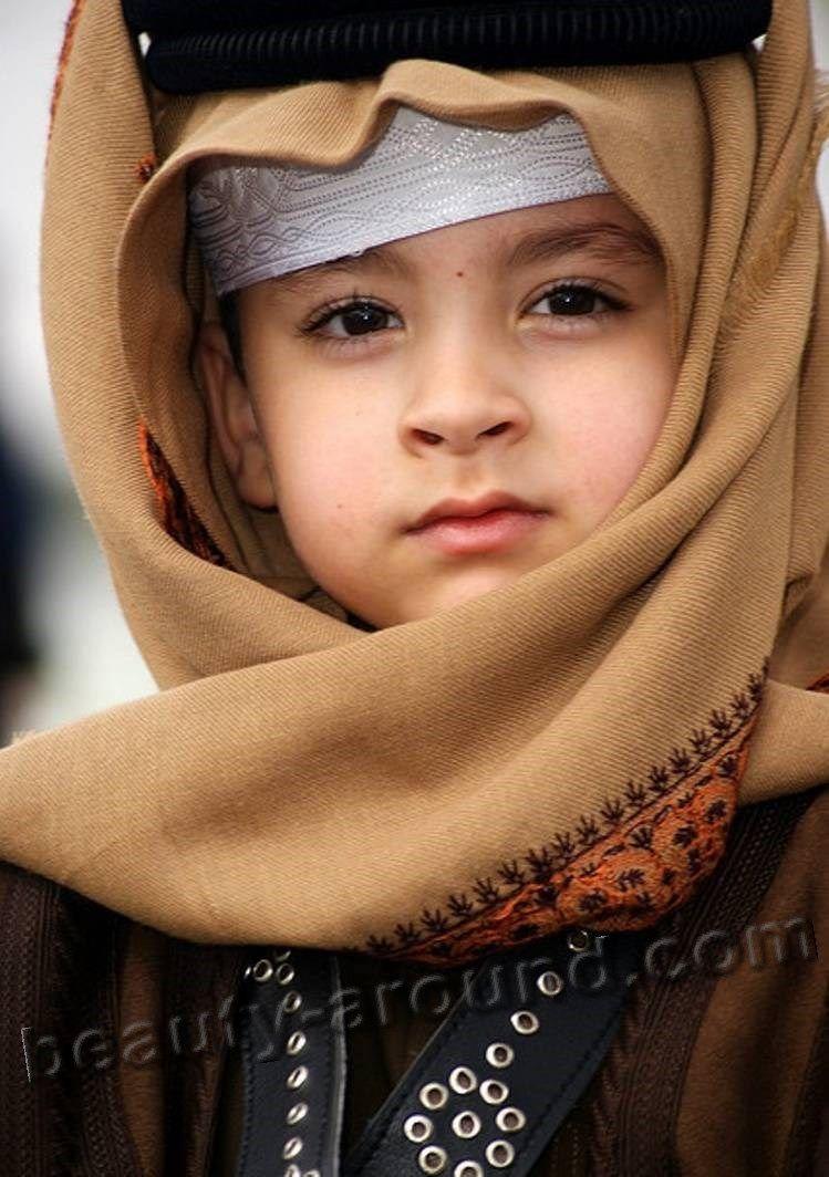 Handsome qatari baby boy photo