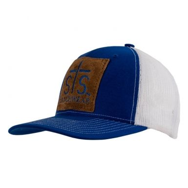 STS Patch Cap - Royal Blue / White | STS Ranchwear