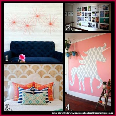 4 Decoration Ideas For Blank And Boring Walls
