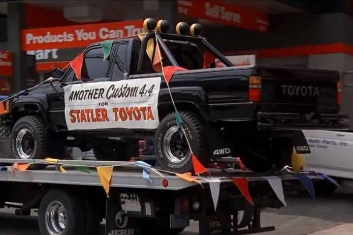 The Top 100 Movie And Tv Star Cars Is Your Favorite Missing Tv Cars Cars Movie Toyota Pickup 4x4
