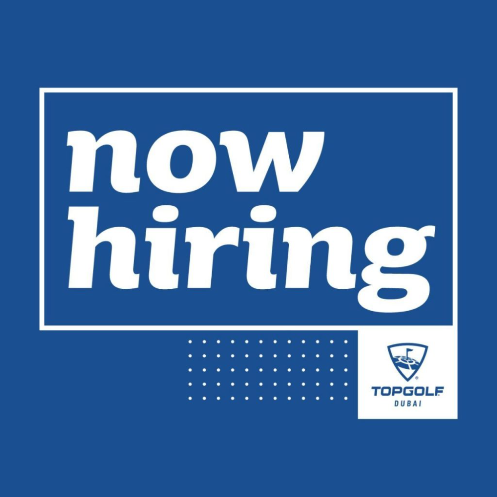 Topgolf Dubai Urgent Hiring Only Candidates Available Immediately Will Be Considered 1 Bartender 2 Waiters Waitresses 3 Che Hotel Jobs Job Opening Dubai