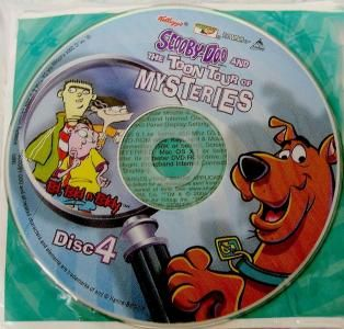 Dvd Rom Scooby Doo Collectible Disc 4 Scooby Doo And The Tune Tour Of Mysteries New By Busyqueen Mystery Scooby Doo Scooby