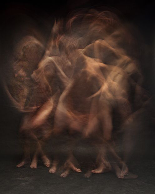 Blurred Long-Exposure Portraits Showing Dancers in Motion