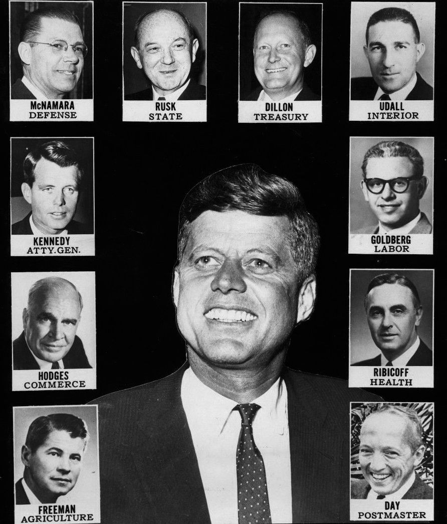 Kennedy's Cabinet 1960s | Tumblr | Who are these people ...