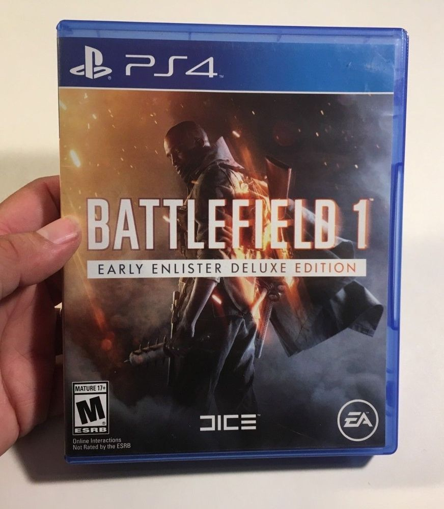 Battlefield 1 Sony Playstation 4 2016 Ww1 German Allies World