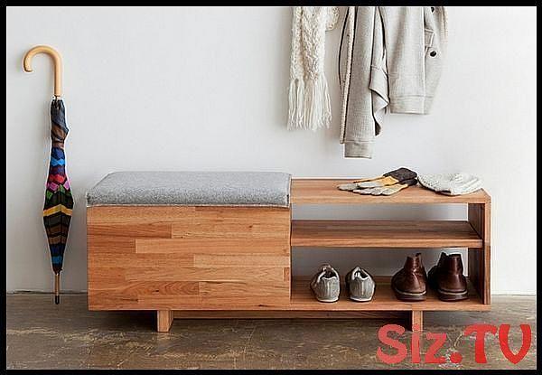 Schuhregalbank Eine Praktische Und Praktische Idee Zur Aufbewahrung Von Schuhen In 2020 Holzbank Mit Ablage Sitztruhe Mobel Fur Kleine Raume