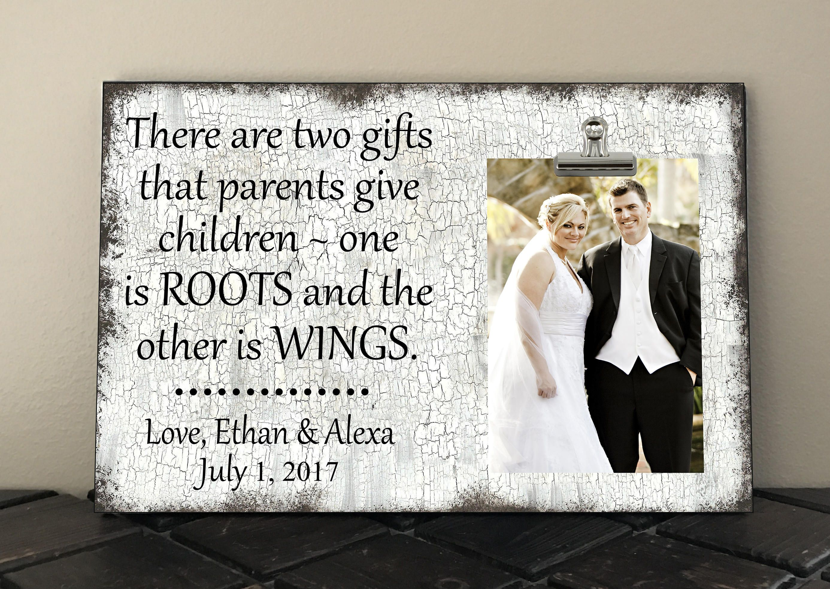 Wedding Gift For Parents There Are Two Gifts That Parents Give