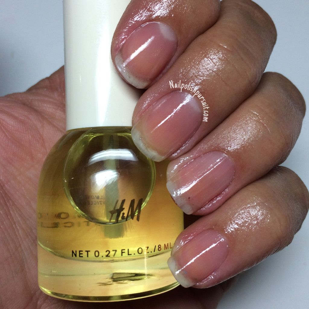 H&M Almond Cuticle Oil | Nailpolishpursuit.com | The Polished ...