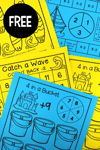 Addition & Subtraction Games | Pinterest | Math facts, Morning work ...