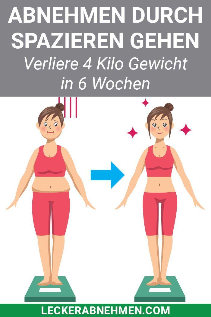 Gehen abnehmen Bauch