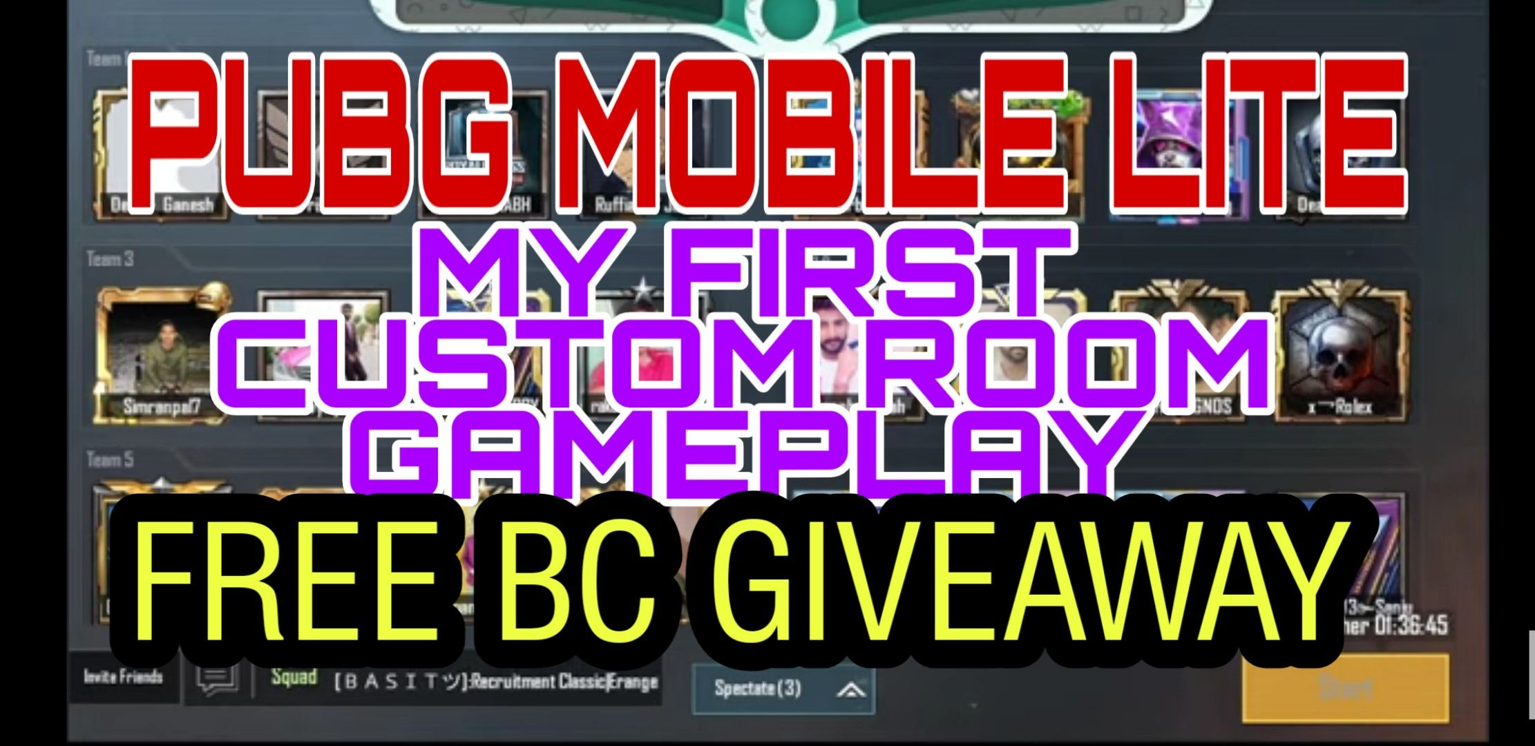 PUBG MOBILE LITE FREE BC GIVEAWAYS in 2020 Informative
